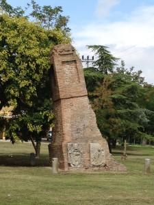 Colonna di confine Papato - Venezia